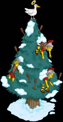 Tout premier sapin de Noël