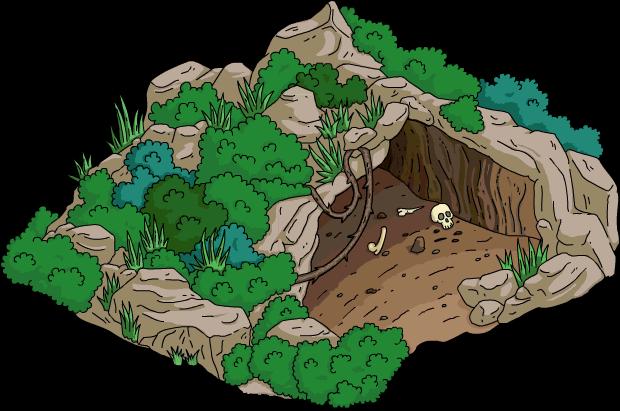 Grotte forestière