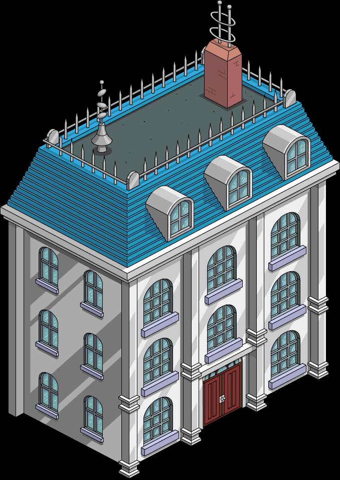 Maison urbaine rétro