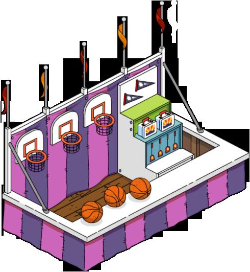 Borne d'arcade basket