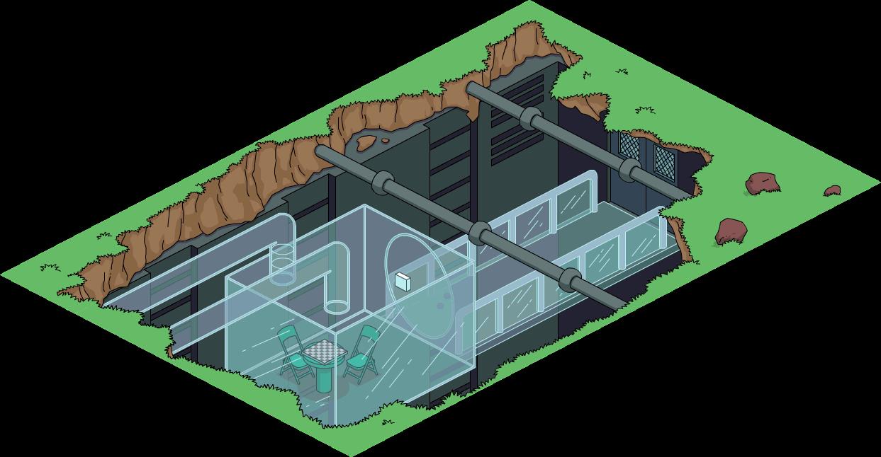 Prison en plastique