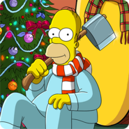 Noël des Simpson Icon App