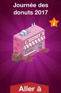 Journée des donuts 2017 Boutique