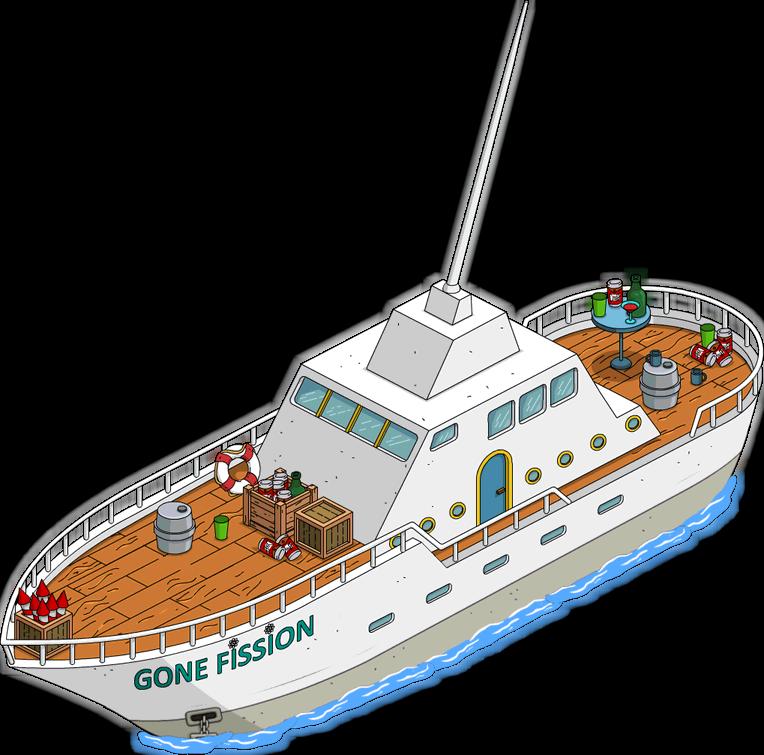 Yacht de M. Burns