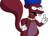 Écureuil désapprobateur