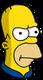 Homer Patriote Ennuyé