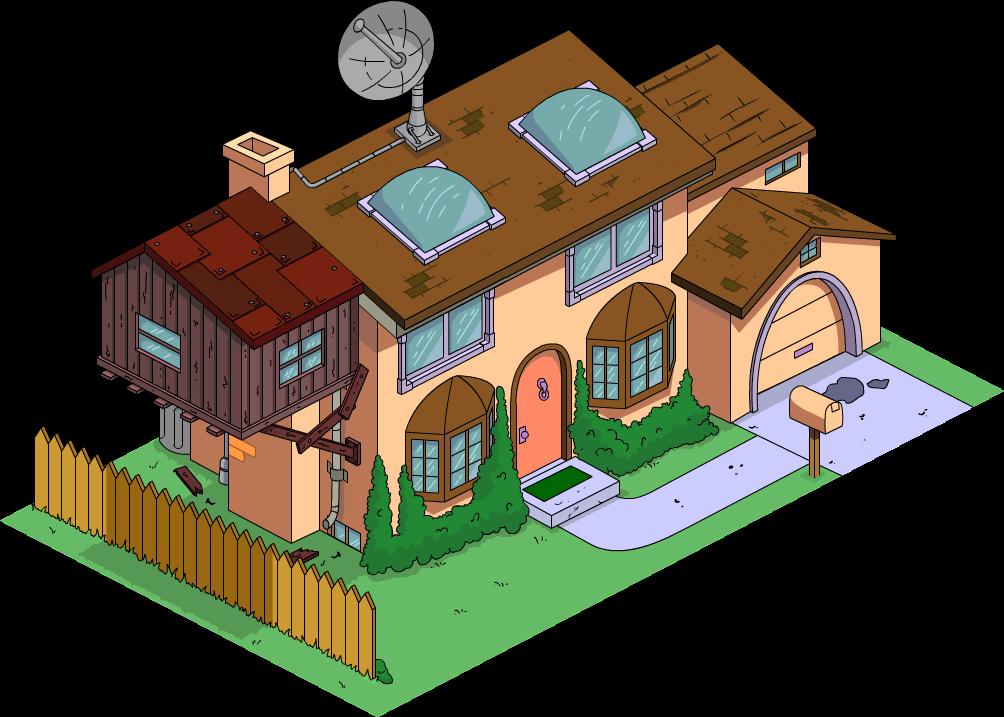 Maison du futur des Simpson