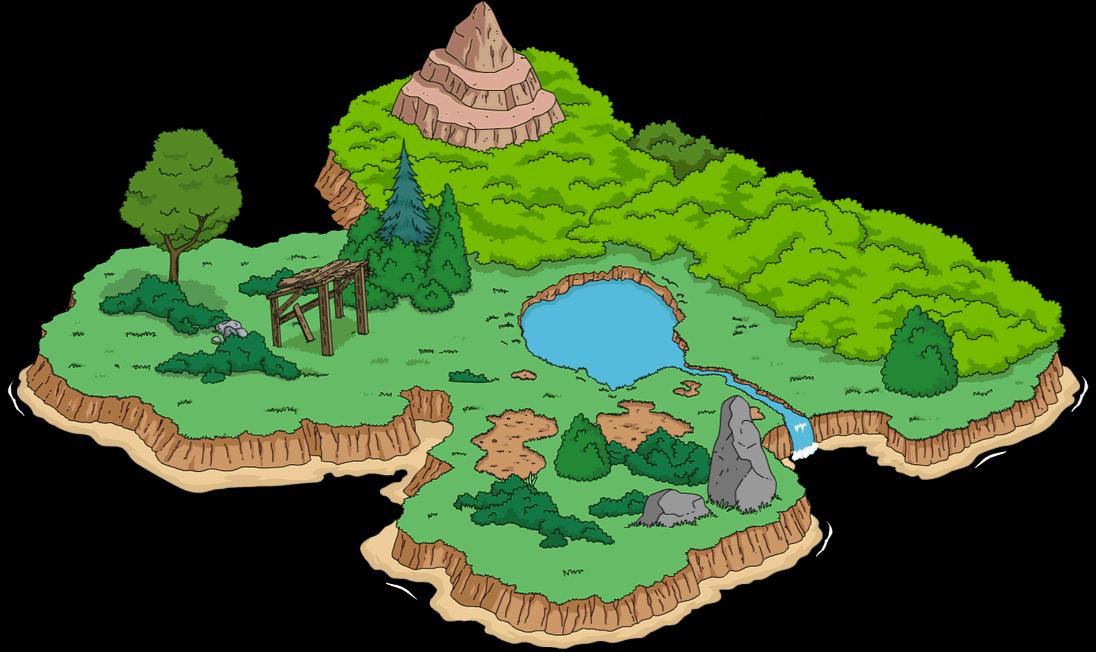 Île tempétueuse