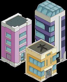 Bâtiments Zenith City 1