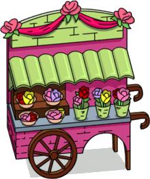 Joli stand floral