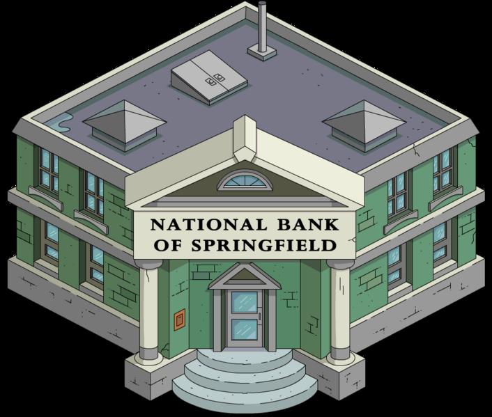 Banque nationale de Springfield (quête)