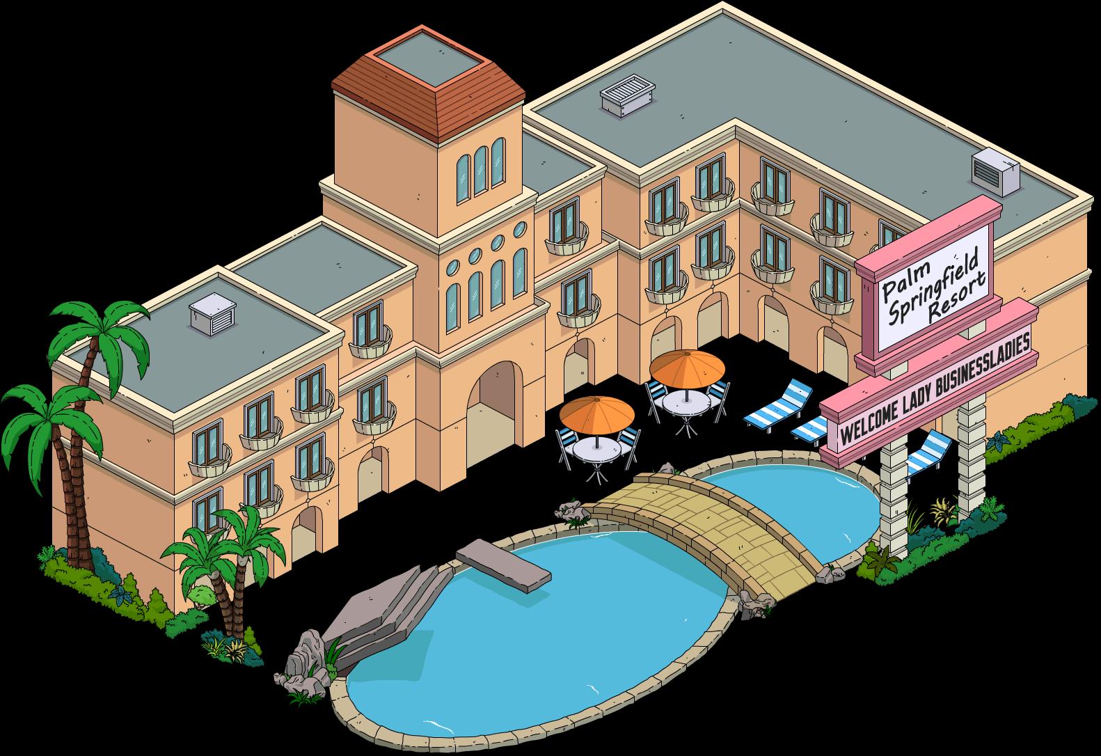 Hôtel Palm Springfield Resort