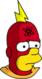 Radioactive Man Triste Icon