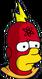 Radioactive Man Triste Icon