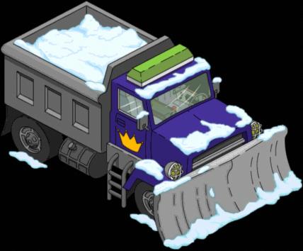 Chasse-neige et jalousie