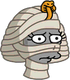 Madame la momie Triste
