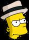 Tic-Tac Simpson Ennuyé