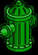 Bouche d'incendie Fierté verte