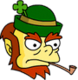 Leprechaun colère Icon