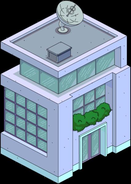 Bâtiment central moderne