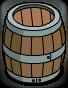 Barriques en bois (simple)