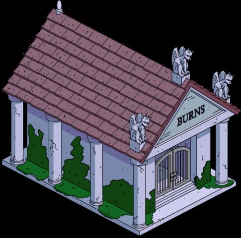 Crypte de la famille Burns