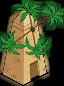 Moulin à feuilles de bananier
