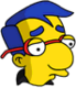 Milhouse Cool Triste