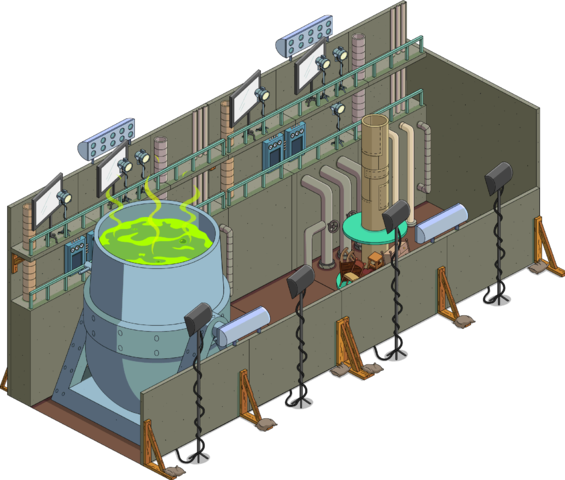 Scène du film Radioactive Man
