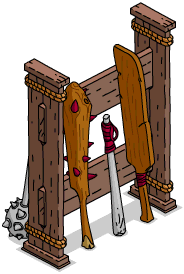 Râtelier d'armes