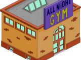 Club de gym 24h/24