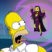 Simpson Horror Show Icon Appli