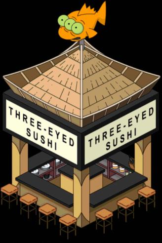 Sushi à trois yeux
