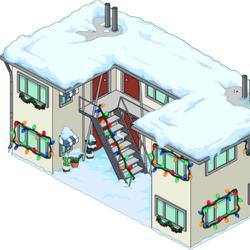 Appartement de Krapabelle de Noël