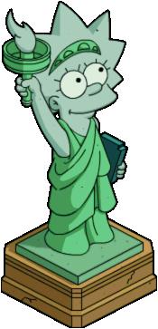 Statue de la Liberté Lisa