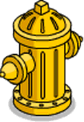Bouche d'incendie Fierté jaune