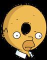 Homer Donut Icon