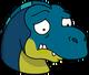 Bébé T-Rex Triste
