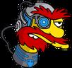 Willie Cyborg Icon