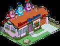 Maison des Van Houten festive