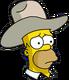 HomerCowboy Triste