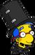 MilhouseMagicien Excité