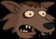 Loup-graillou Surpris