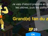 Grand(e) fan du zoo