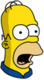 Homer Patriote Surpris