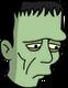 Monstre de Frankenstein Triste