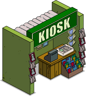 Kiosque (Super-héros)