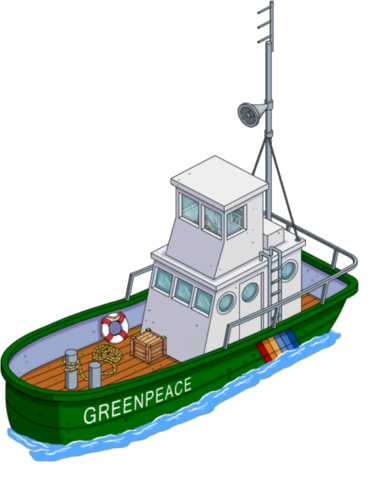 Bateau de Greenpeace