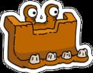 Bulldozersaur. Icon