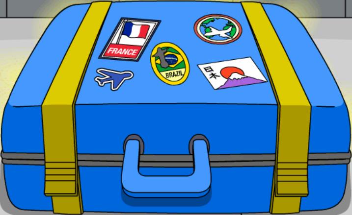 Boîte mystère de bagage perdu
